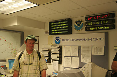 Pacifi Tsunami Warning Center (Oahu, Hawaii, USA)